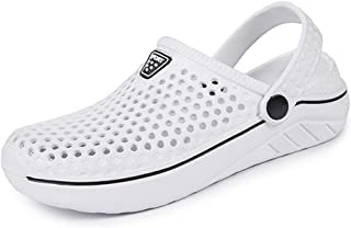 Eagsouni Unisex Garden Clogs Shoes Casual Slippers Quick Drying Sandals Summer Anti-Slip Beach Shoes for Men and Women