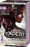 Schwarzkopf Color Expert Intensiv-Pflege Color-Creme 4.9 Dunkles Beeren-Braun, 3er Pack (3 x 167 ml)