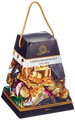 Henry Lambertz Lebkuchenkonfekt Petits Soleils Pyramide, 1er Pack (1 x 1 kg)