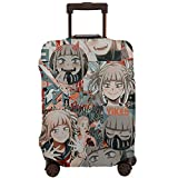 Travel Suitcase Elastic Protective Cover Washable Retro Luggage Cover with Concealed Zipper Medium
