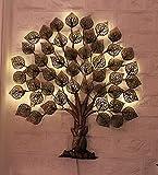 Nyra Decor Metal Buddha Tree with led Light