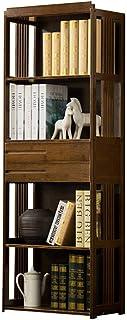 Bookcase Home Bookshelf Vintage Bookcase Creative Bookshelf Simple With Drawer Racks Simple Modern Open Book Shelf Storage...