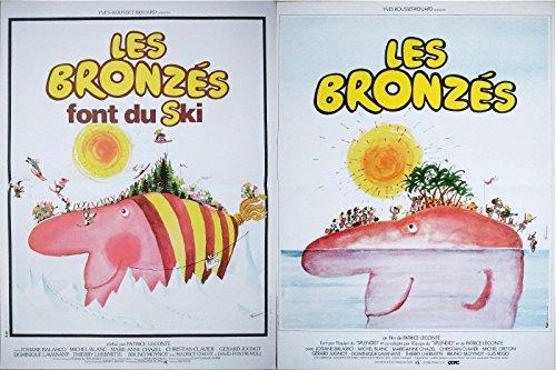 Les BRONZES + Les BRONZES Font du Ski Affiches Cinéma (Format 53x40 cm pliée) R1990
