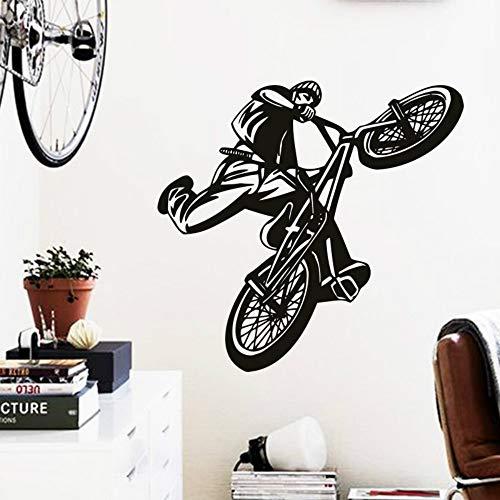 SLQUIET Anpassbare Hauptdekoration schöne Bilder Fahrrad Wandaufkleber Haus Dekoration Sport...