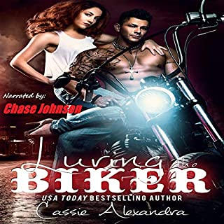 Luring the Biker  audiobook cover art