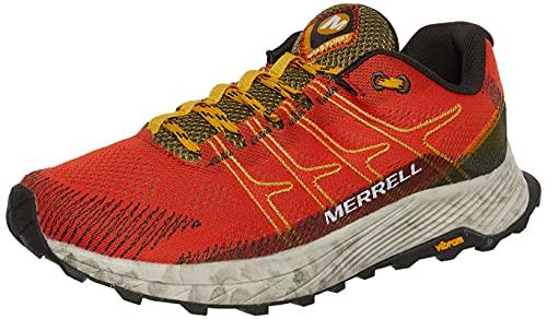 Merrell MOAB Flight, Zapatillas de Running Hombre, Tangerine, 43 EU