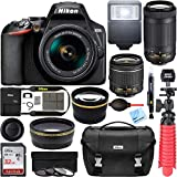 Nikon D3500 DSLR Camera w/AF-P DX 18-55mm VR and...