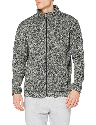 Stedman Apparel Active Knit Fleece Jacket/ST5850 Sweat-Shirt, Gris foncé, XXL Homme