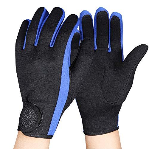 1,5 mm Tauchhandschuhe Neopren Handschuhe Thermohandschuhe Neoprenanzug Rutschfest Tauchen Schnorcheln Kajakfahren Segeln Paddeln Surfen Schwimmen Wassersport Handschuhe