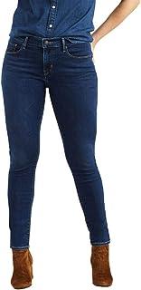 Calça Jeans Levis 811 Curvy Skinny Feminino Escura