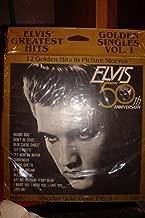 Elvis 50th Anniversary special Gold Color Discs Golden Hits Vol. I and II