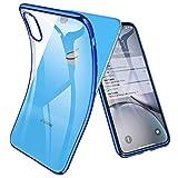 Joyguard iPhone XR Hülle, Durchsichtig Weiche Silikon Plating Überzug TPU iPhone XR Handyhülle,...