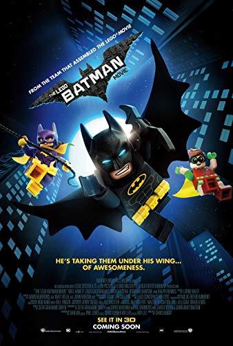 Lionbeen The Lego Batman Movie Movie Poster Cartel de la Pelicula 70 X 45 cm