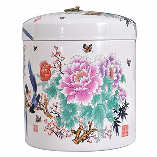 Tanque de arroz de cerámica Cubo de arroz Tanque de Agua Tanque de Aceite Tanque de Almacenamiento a Prueba de Insectos y a Prueba de Humedad