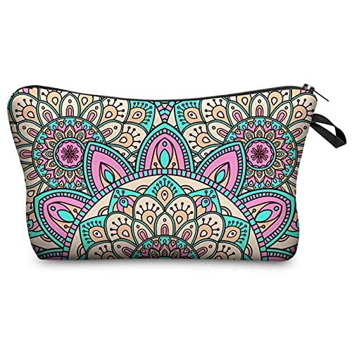vincente Beauty case da viaggio, borsa per cosmetici professionale, per donne e ragazze, 18 × 13,5 × 22 cm