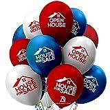 House for Sale Balloons - Open House Balloons for Real Estate - Realtor Metallic Balloons Supplies Sign - Sale by Owner - Realtor Open House - Realtor Kit - Realtor House Signs (24)