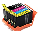 1 Set of 4 pack Comptible Ink Cartridge for Lexmark 150XL Ink Cartridge For Lexmark S315 S415 S515 Ink No.62