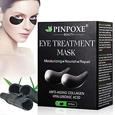 Collagen Eye Mask, Anti Aging Eye Patch, Collagen Eye pads, Under Eye Mask, Eye Treatment Mask, for Puffy Eyes & Bags, Dark Circles and Wrinkles,with Collagen, Hyaluronic Acid, Hydrogel