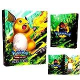 Carpeta de Titular de Tarjetas de Pokemon, álbumes de Entrenador Pokemon Tarjetas GX EX,...