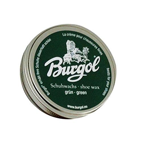 Burgol Schuhwachs, shoe wax - neue Rezeptur (grün)