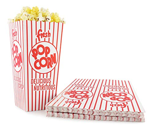 Open Top Popcorn Boxes 100-Pack