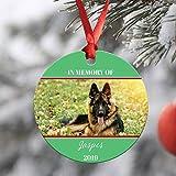 Yor242len - Adorno conmemorativo para Mascotas, Regalo para la pérdida de Mascotas,...