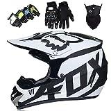 Aishengjia Motorcycle Fox Cross-Country Helmets for Men and Women Winter Mountain Bike Full face Helmet Downhill Rushing Mountain Small Helmet