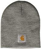 Carhartt Knit Hat Gorro, Heather Grey, One Size Unisex Adulto