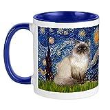 XCNGG Tazza per gatti Tazza da caffè in ceramica da 11 once Adatto alla lavastoviglie e al microonde Lucky Cat