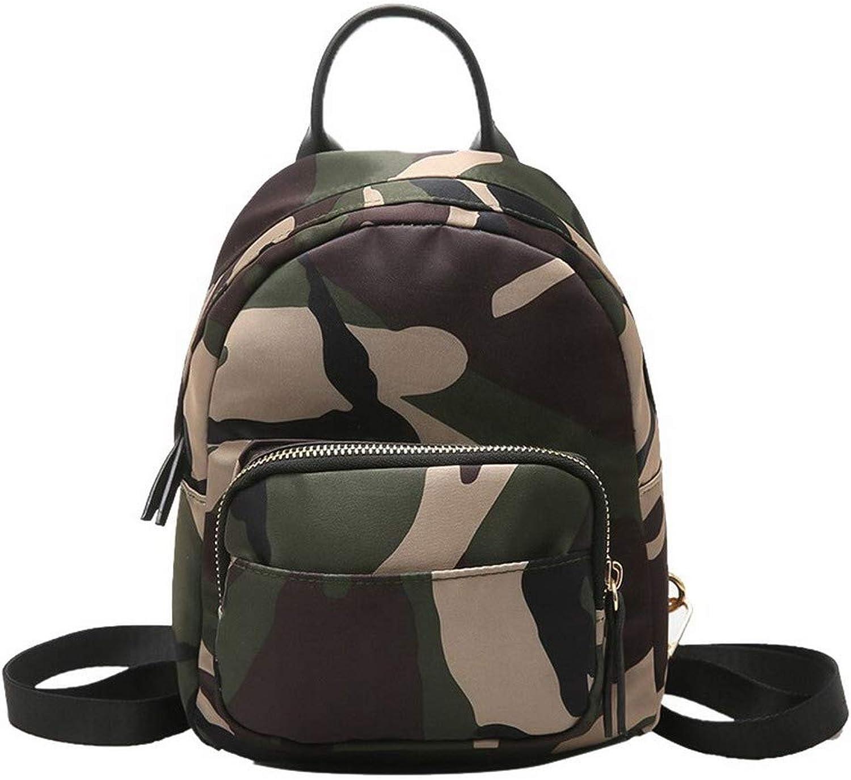AmoonyFashion Women's Dacron Nylon Casual Zippers Shoulder Bags,BUTBS208745,Army Green