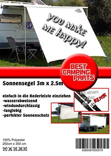 MUFU Sunblocker, Rainblocker, Sonnensegel für Wohnmobil Markise