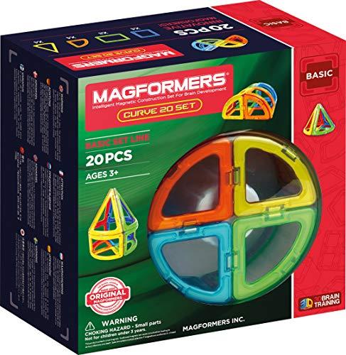 Magformers Curve 20-teilig, AK701010, Bauspiel