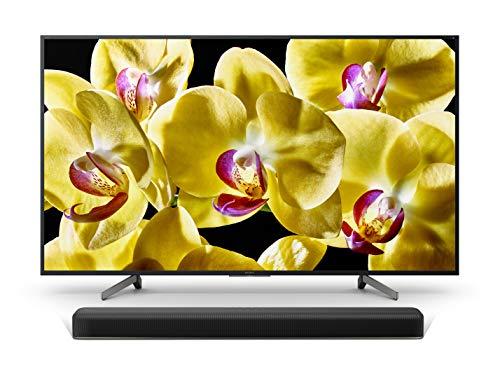 Sony KD-49XG8096 Bravia 49 Zoll (123,2cm) Fernseher (Ultra HD, 4K HDR, Android Smart TV, Chromecast) schwarz Plus HT-X8500 2.1 Kanal Dolby Atmos Soundbar (4K HDR, DTS:X) schwarz
