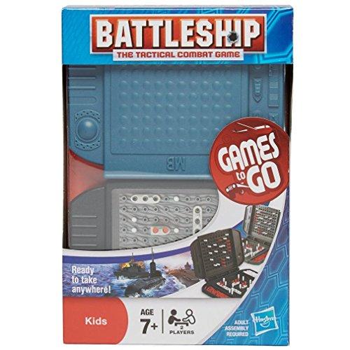 Hasbro Gaming - Hundir la Flota, Juego de Viaje (versión en inglés)