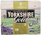 Taylor´s of Harrogate Yorkshire Gold Tea – 250 g (80 Beutel) – Schwarzer Tee – Mischung aus Assam, Kenia und Ruanda