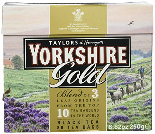 Taylor's of Harrogate Yorkshire Gold Tea 250 g Teebeutel (1 x 250 g)