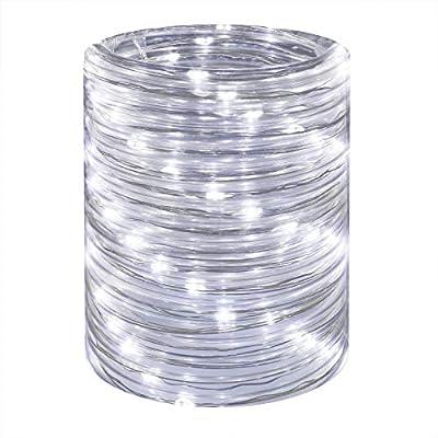 LED Rope Lights 16ft Daylight Waterproof Mini T...