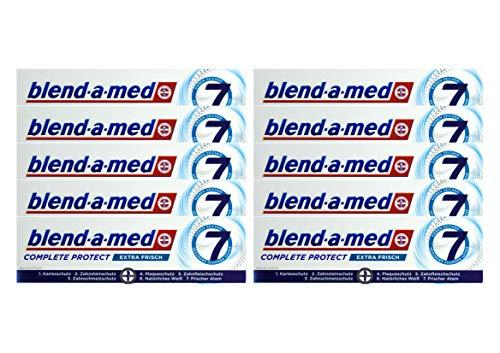 10x Blend-a-med Complete Protect 7 Zahncreme Extra Frisch 75ml Zahnpasta Neu & OVP