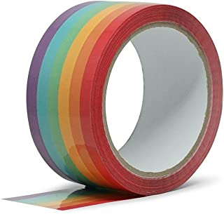 Rainbow Tape for Packing or Crafting, Set of 1
