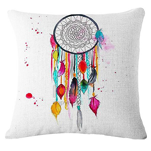 Find Discount Mlide Color Graffiti Pillowcase Personalized Sofa Car Waist Throw Cushion Cover Square...