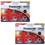 Panasonic CR2025 12 piles bouton au lithium (Import Royaume Uni)