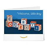 Baby Blocks Boy - Printable Amazon.co.uk Gift Voucher