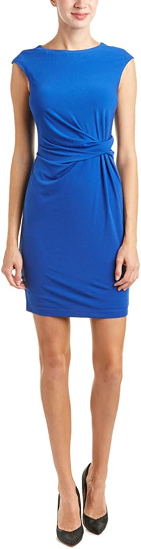 Donna Morgan Women's Extended Sleeve Rouch Side Bodycon