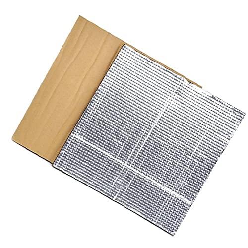 fregthf Plataforma Caliente Cama de Aislamiento térmico semillero Bloque de Aislamiento Estera de la Espuma 3D Impresora calienta Cama Aislamiento Térmico algodón 2 Piezas de Plata