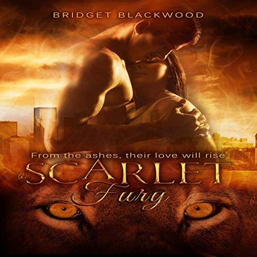 A Scarlet Fury audiobook cover art