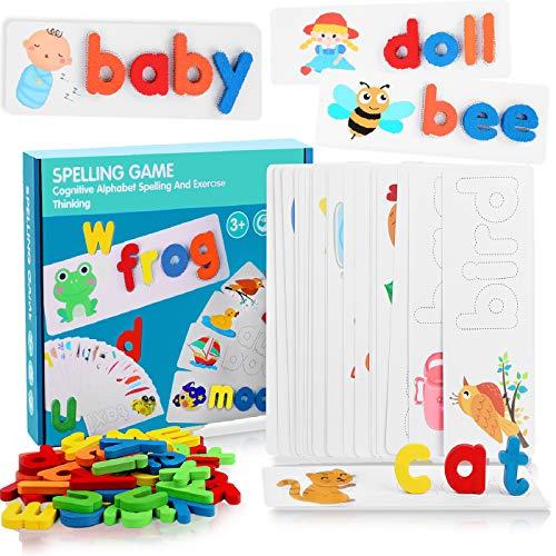 VWMYQ Educational Toys Spelling ...