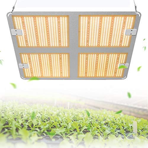4000W Lamparas Led Cultivo,Compatible Con 1888 Pcs Leds Para El Crecimiento De Las Plantas,Espectro Completo(3000K 5000K 660nm 760nm IR) Lámpara De Crecimiento Para Plantas De Interior En Casa (2000W)