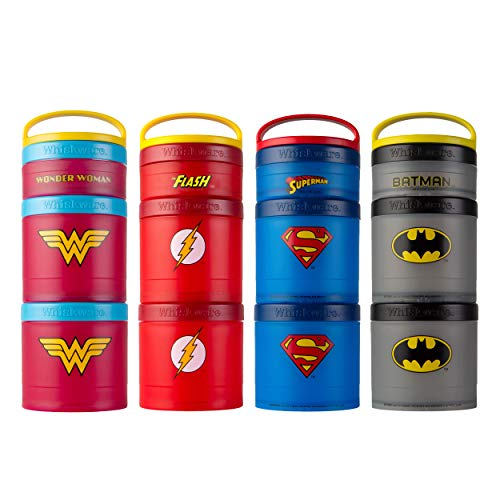 Product Image 2: Whiskware Justice League Stackable Snack Pack, Superman