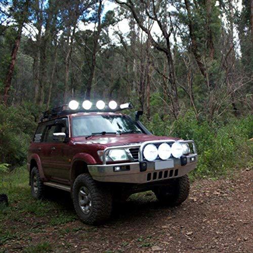 LoveOlvido - 1 par de Luces de conducción HID de 7 Pulgadas, 12 V, 100 W, xenón, para Caza de Campo, Pesca, Camping, Trabajo, Luces de Punto