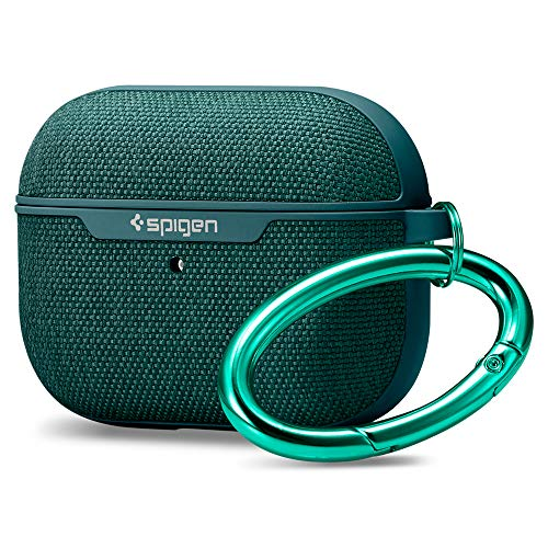 Spigen Urban Fit Compatible con Apple Airpods Pro Funda Case (2019) - Verde Medianoche